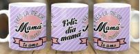 Taza personalizada por sublimación de Mamás