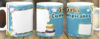Tazas personalizadas por subimación de Celebraciones